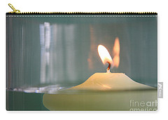 Carry-all Pouch featuring the photograph Waxing Lyrical... by Lynn England