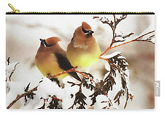 Waxwing Refuge  Carry-all Pouch