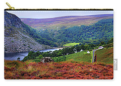 Carry-all Pouch featuring the photograph Way Home. Wicklow. Ireland by Jenny Rainbow