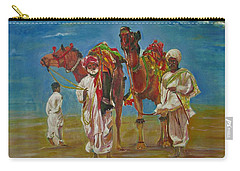Way Of Life Carry-all Pouch by Khalid Saeed