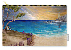 Carry-all Pouch featuring the painting Way To Escape by Kimberlee Baxter