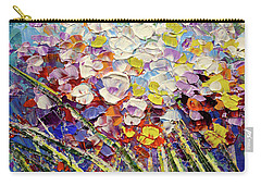 Carry-all Pouch featuring the painting Way To Fairyland by Tatiana Iliina