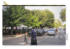 Carry-all Pouch featuring the photograph Ways To Stop Traffic  by Connie Handscomb