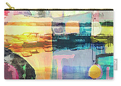 Wayzata Boats Abstract Carry-all Pouch