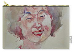Wc Portrait 1627 My Sister Hyunju Carry-all Pouch