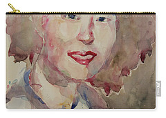 Wc Portrait 1628 My Sister Hyunsook Carry-all Pouch