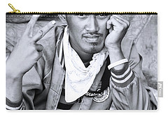 Carry-all Pouch featuring the photograph We All Feel  by Jez C Self