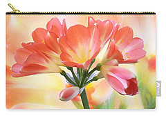 Carry-all Pouch featuring the photograph We Are Family by Gabriella Weninger - David