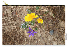 Carry-all Pouch featuring the photograph We Are Family by Marie Neder