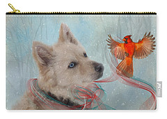 We Can All Get Along Carry-all Pouch by Colleen Taylor