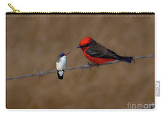 We Could Still Be Friends Carry-all Pouch by John Kolenberg