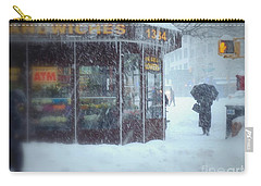 We Sell Flowers - Winter In New York Carry-all Pouch