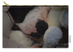 At Night We Snuggle Carry-all Pouch by Patti Whitten