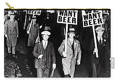 We Want Beer - Prohibition C. 1932 Carry-all Pouch