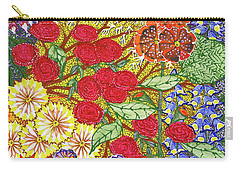 Carry-all Pouch featuring the painting We Will Have Many Blooms #2 by Kym Nicolas