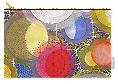 Carry-all Pouch featuring the painting We Will Have Many Moons #2 by Kym Nicolas