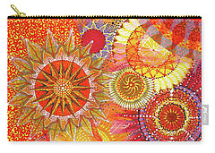 Carry-all Pouch featuring the painting We Will Have Many Suns #2 by Kym Nicolas