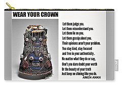 Wear Your Crown Carry-all Pouch