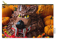 Wearwolf Cake With Pumpkins Carry-all Pouch by Garry Gay