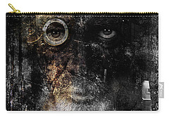 Carry-all Pouch featuring the digital art Weary by Nola Lee Kelsey