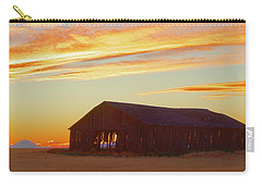 Weathered Barn Sunset Carry-all Pouch