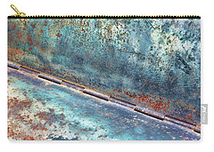Carry-all Pouch featuring the photograph Weathered by Kathy Bassett