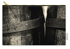 Weathered Old Apple Barrels Carry-all Pouch by Bob Orsillo