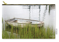 Weathered Old Skiff - The Outer Banks Of North Carolina Carry-all Pouch
