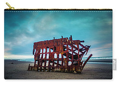 Weathered Rusting Shipwreck Carry-all Pouch