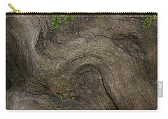Carry-all Pouch featuring the photograph Weathered Tree Root by Mike Eingle