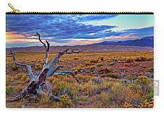 Weathered Wood And Dunes - Great Sand Dunes - Colorado Carry-all Pouch by Jason Politte