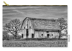 Weathered Wood Of Iowa Carry-all Pouch