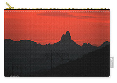 Weaver Needle Sunset Carry-all Pouch