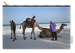 Wedding Camels In The Waiting ... Carry-all Pouch