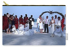 Wedding Complete Panoramic Kenya Beach Carry-all Pouch by Exploramum Exploramum