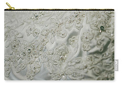 Wedding Dress Floral Beadwork Carry-all Pouch