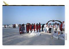 Wedding In The Afternoon Shadow Carry-all Pouch