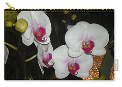 Carry-all Pouch featuring the photograph Wedding Orchids by Kim Prowse