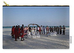 wedding with Maasai singers Carry-all Pouch