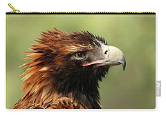 Wedge-tailed Eagle Carry-all Pouch by Marion Cullen