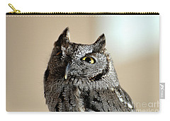 Wee Western Screech Owl Carry-all Pouch