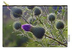 Weed Flower 1 0f 5 Carry-all Pouch