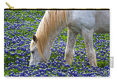 Weeding The Garden Carry-all Pouch by Gary Holmes
