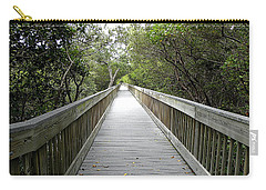 Weedon Island Boardwalk  Carry-all Pouch by Chris Mercer