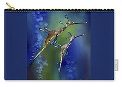 Weedy Sea Dragon Carry-all Pouch by Thanh Thuy Nguyen