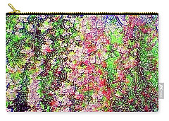 Weeping Cherry Carry-all Pouch by Holly Martinson