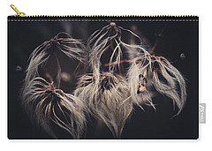 Carry-all Pouch featuring the photograph Weeping Dandelions by Shane Holsclaw