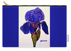 Weeping Iris Carry-all Pouch