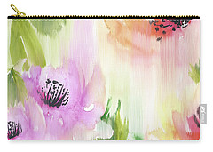 Carry-all Pouch featuring the painting Weeping Rose Forest by Colleen Taylor