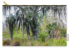 Carry-all Pouch featuring the photograph Weeping Willow by Madeline Ellis